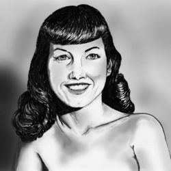 90 Bettie Page