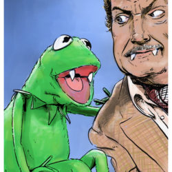 Kermit the Frog & Vincent Price