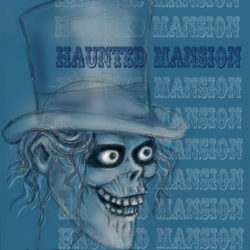 Haunted Mansion Hat Box Ghost