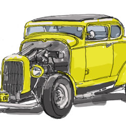 150 American Graffiti Car