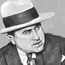 Al Capone Digital Painting
