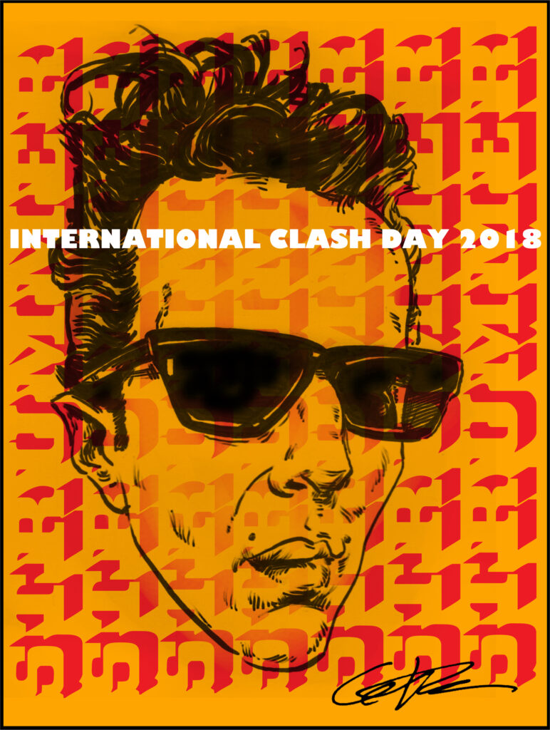 Clash Day Poster 2018 Joe Strummer