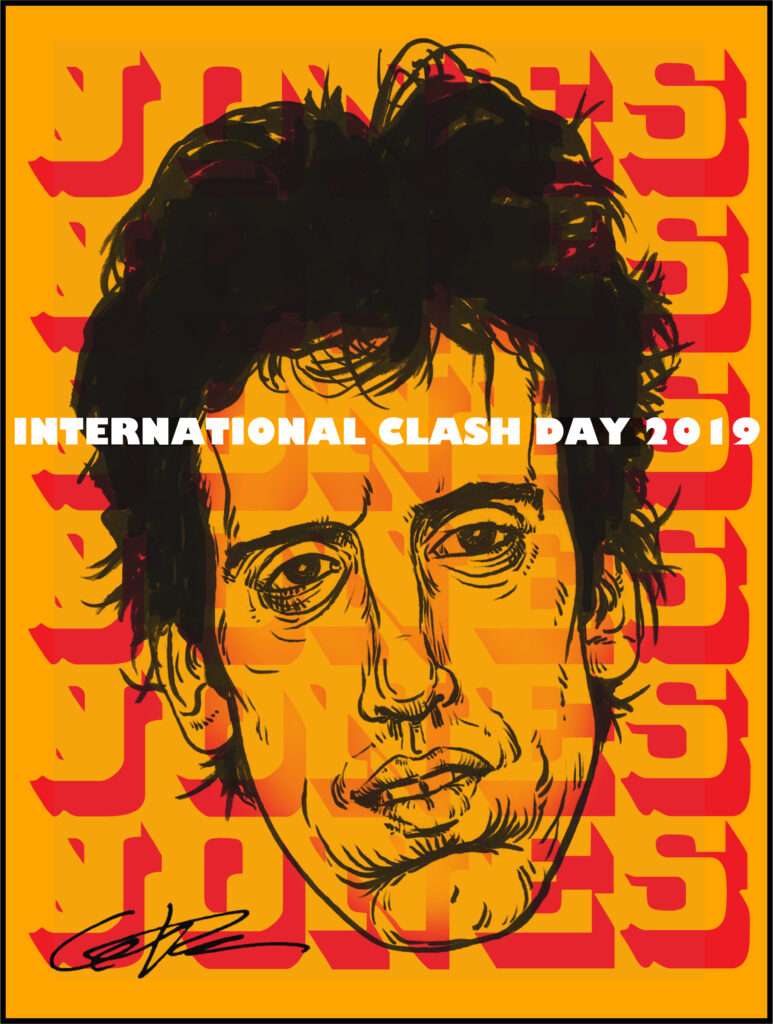 Clash Day Poster 2019 Mick Jones