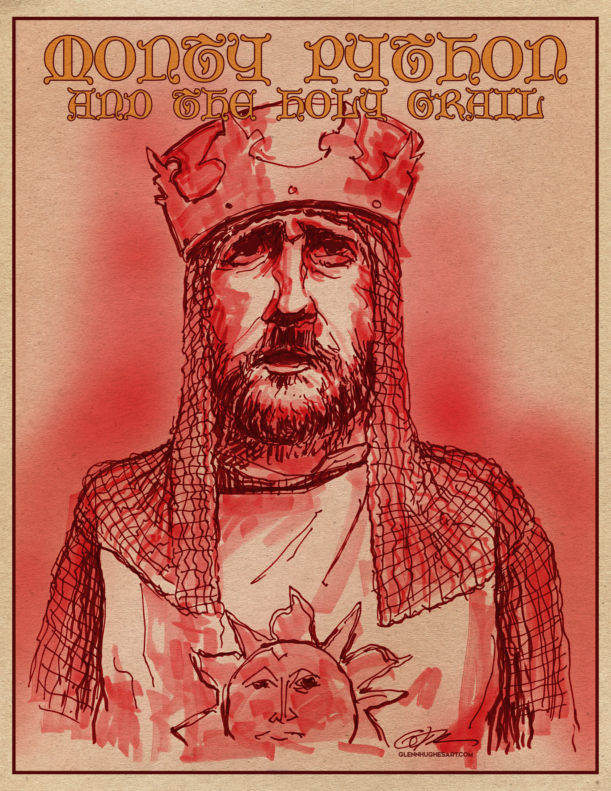 Graham Chapman Holy Grail