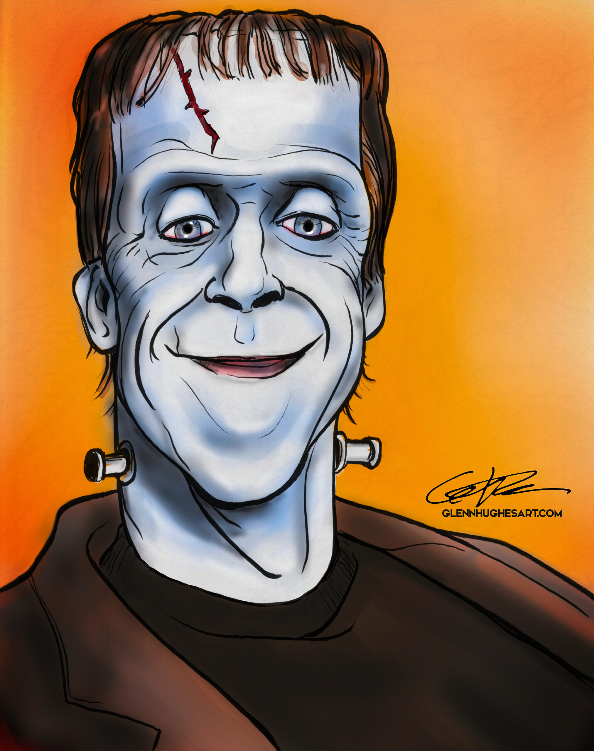 Herman Munster Punk