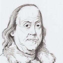 100 Benjamin Franklin