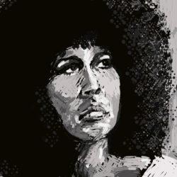 115 Afro Hairdo