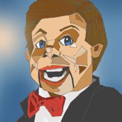 128 Creepy Ventriloquist Dummy