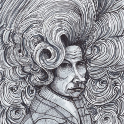 147 Angry Woman With Ridiculous Hair