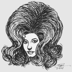 35 Big Hairdo