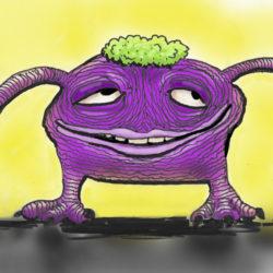 37 Purple Creature