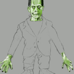 41 Frankenstein's First Try