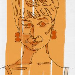 156 Orange Lady