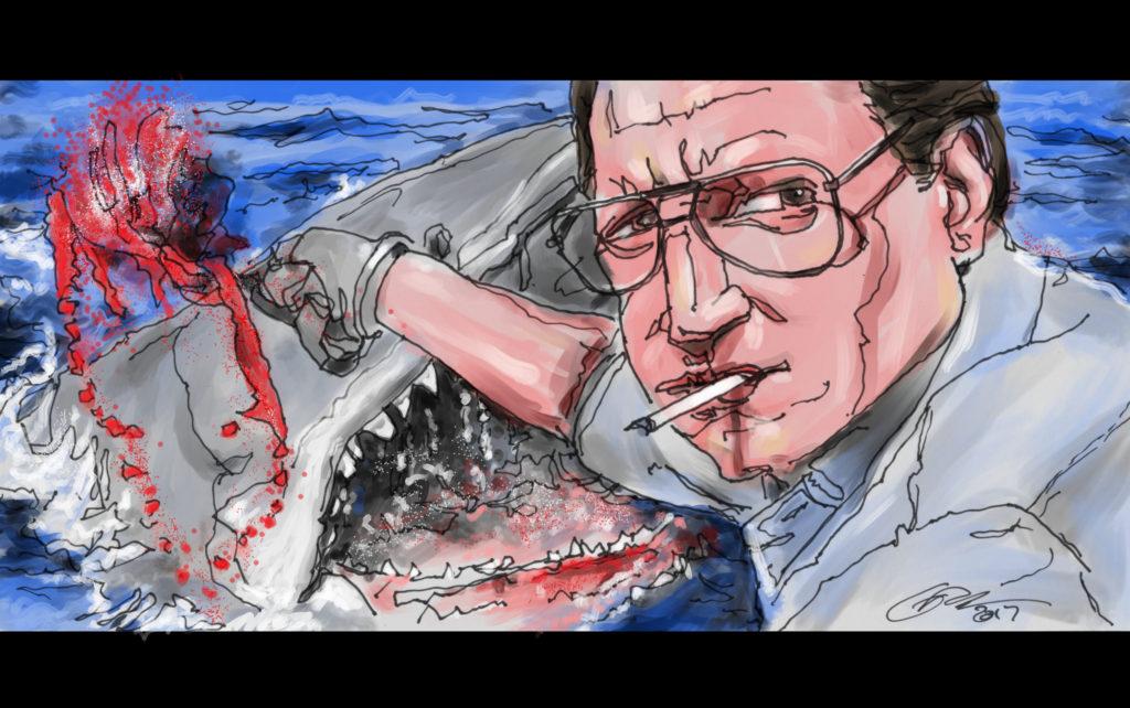 Jaws: Roy Scheider