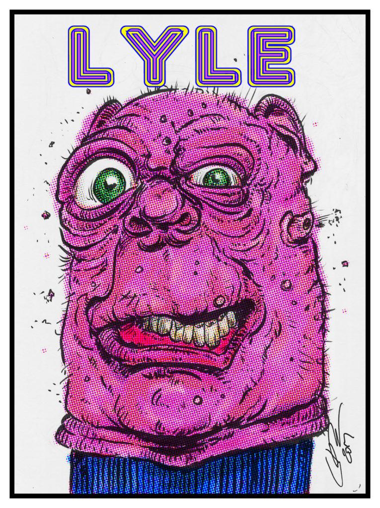 Lyle, Turtleneck Man