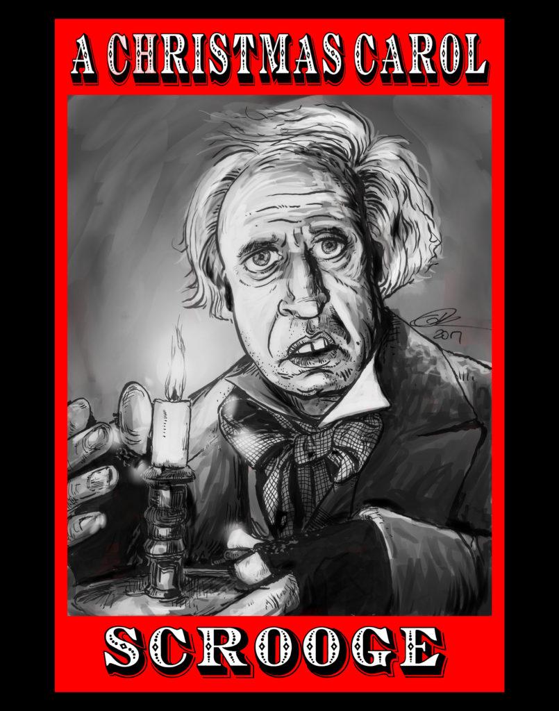 Scrooge: Alistair Sim