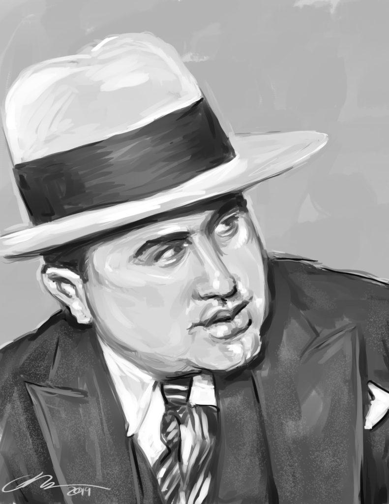 Al Capone Digital Painting