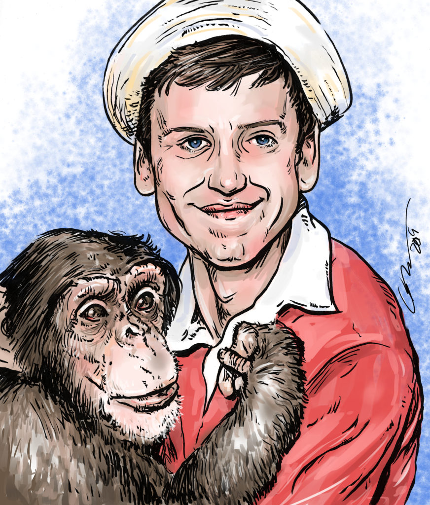 Gilligan and Monkey
