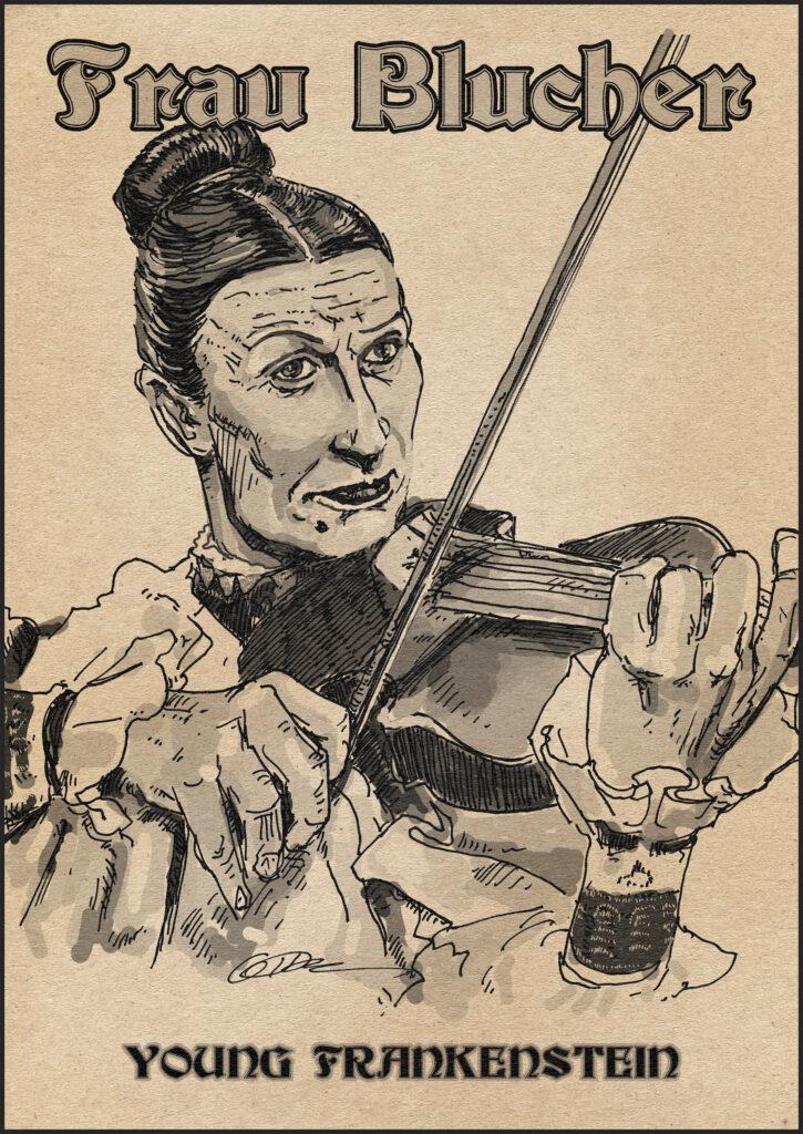 Cloris Leachman - Frau Blucher, Young Frankenstein